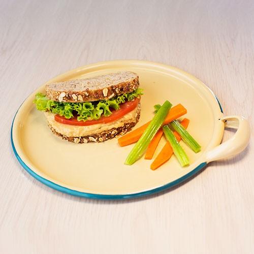 Sándwich de Huevo con Pan de Cereal