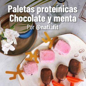 Receta de Paletas de Chocolate