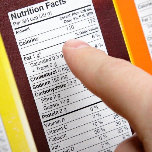 Tabla de información nutricional: un aliado en alimentación